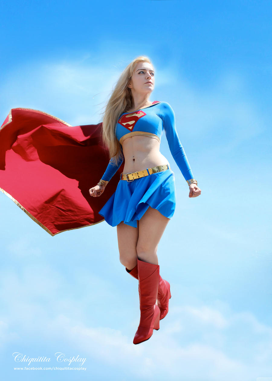 supergirl the power of flight by chiquitita cosplay on