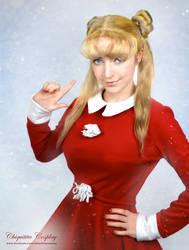 Sailor Moon Christmas Cosplay