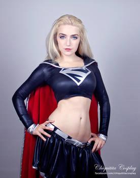 Dark Supergirl Cosplay