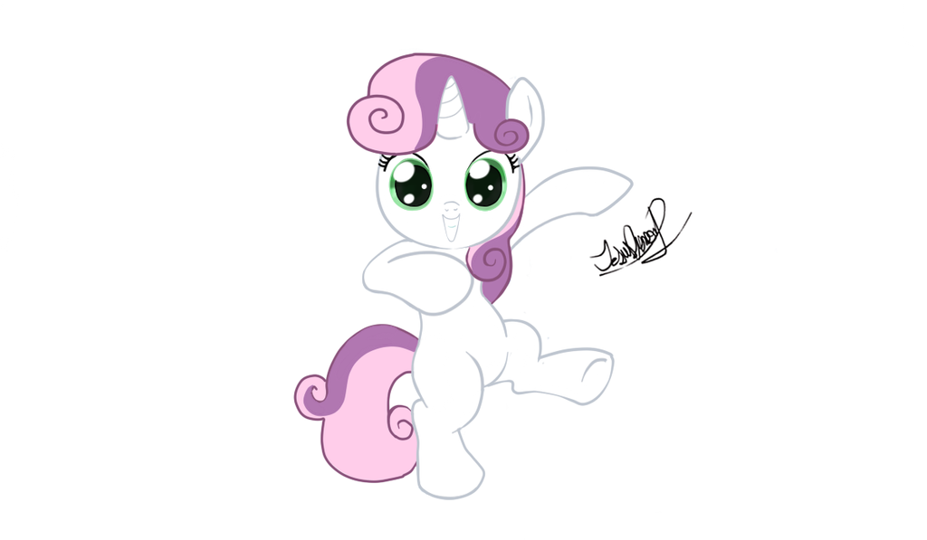 Sweetie Belle by zeronitan