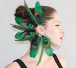 Ear Cuff - Emerald Fairy tale