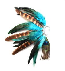 Feather Ear Cuff by chop-chop