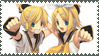 stamp: len and rin by Zoeyxlovex