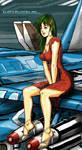 Robotech: Miriya Pin up Redux