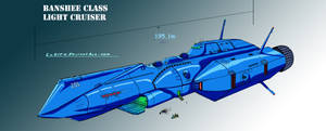 ROBOTECH: Banshee Light Cruiser