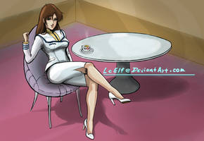 ROBOTECH: Coffee for one? by LeElf