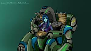 ROBOTECH: Quadronno Combat Ace by LeElf