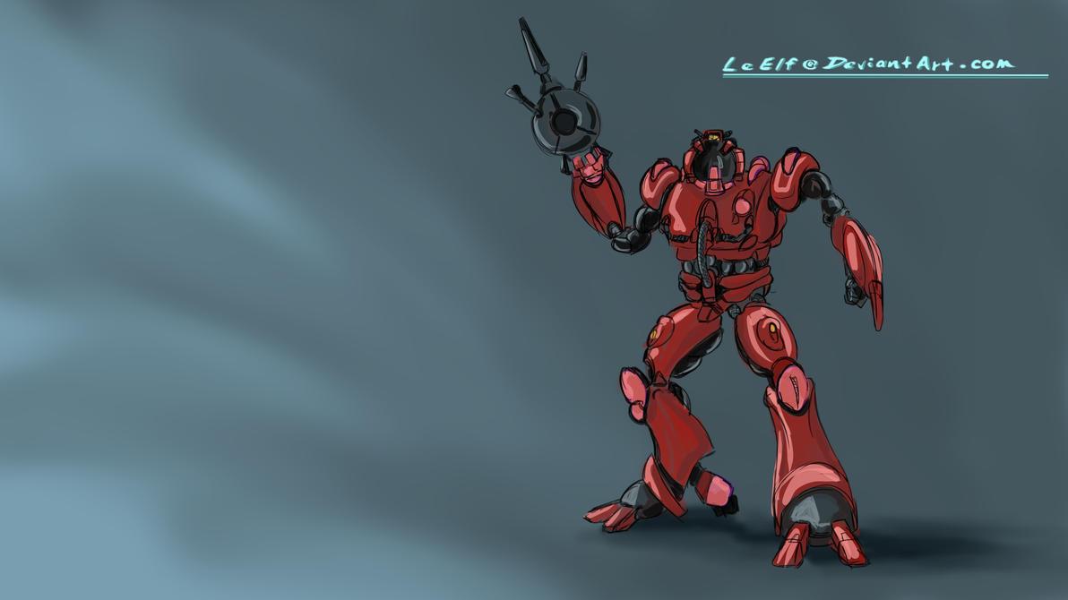 ROBOTECH:  Bioroid Speed Paint by LeElf