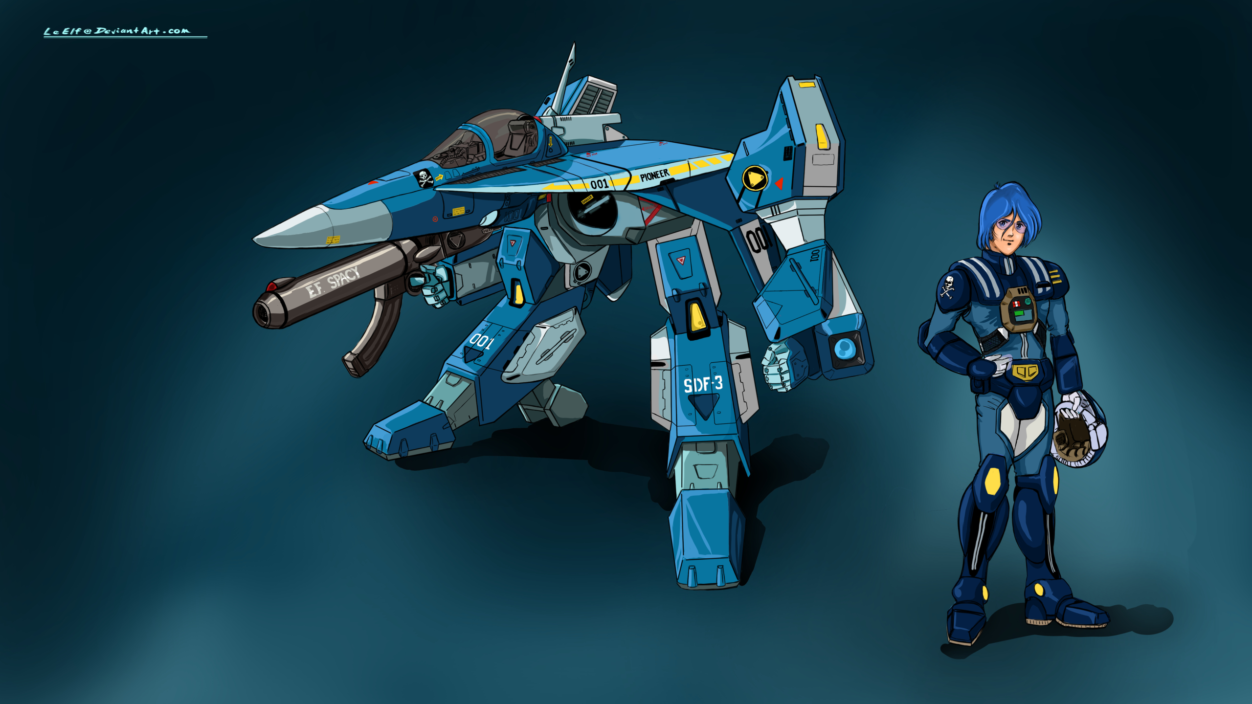 Robotech Vfa 6a Max Type By Leelf On Deviantart