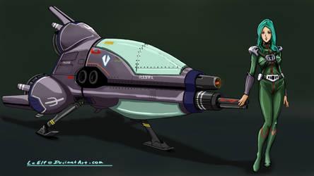 ROBOTECH:  Meltran Gnerl Ace