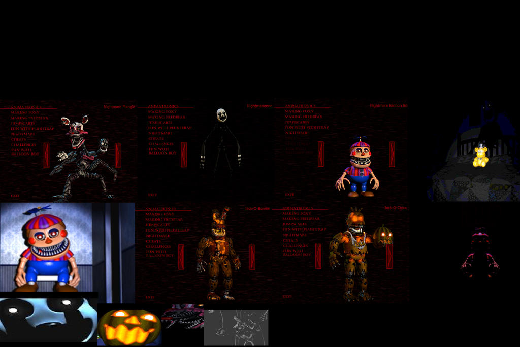 All content for fnaf4 Halloween update by Hunterthegamer21 on ...