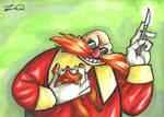 Classic Eggman/ Dr. Robotnick Sketchcard