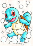 Squirtle Sketch Card