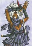 Shinobu Sketch Card