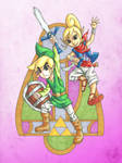Wind Waker Link and Tetra