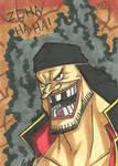 Blackbeard Sketch Card