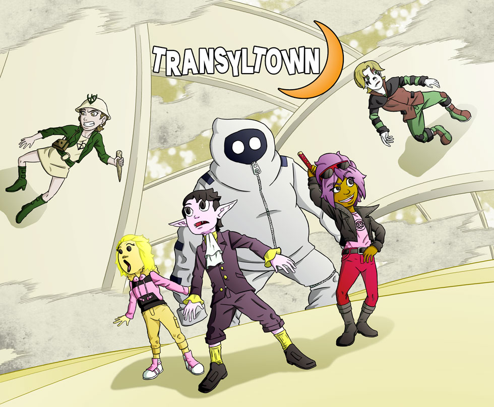 Transyltown Episode 5 Cover by ibroussardart