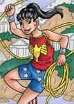Wonder Girl (Donna Troy) ATC
