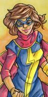 Ms. Marvel Bookmark