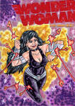 Donna Troy Wonder Woman Sketch Cover
