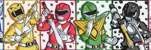 Mighty Morphin Power Rangers Puzzle ATC
