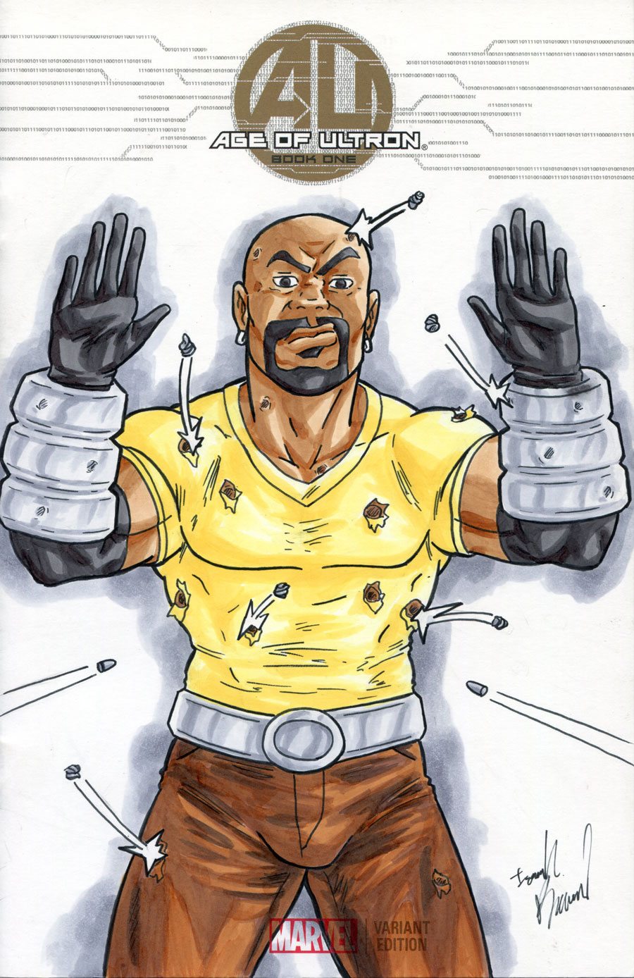 Luke Cage: Hands Up, Don't Shoot by ibroussardart