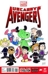 Peanuts Avengers