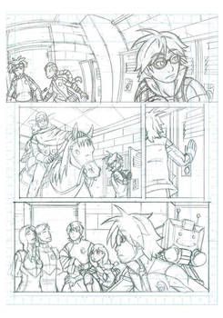 Fight School High School 0 Page 2 Pencils