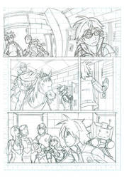 Fight School High School 0 Page 2 Pencils