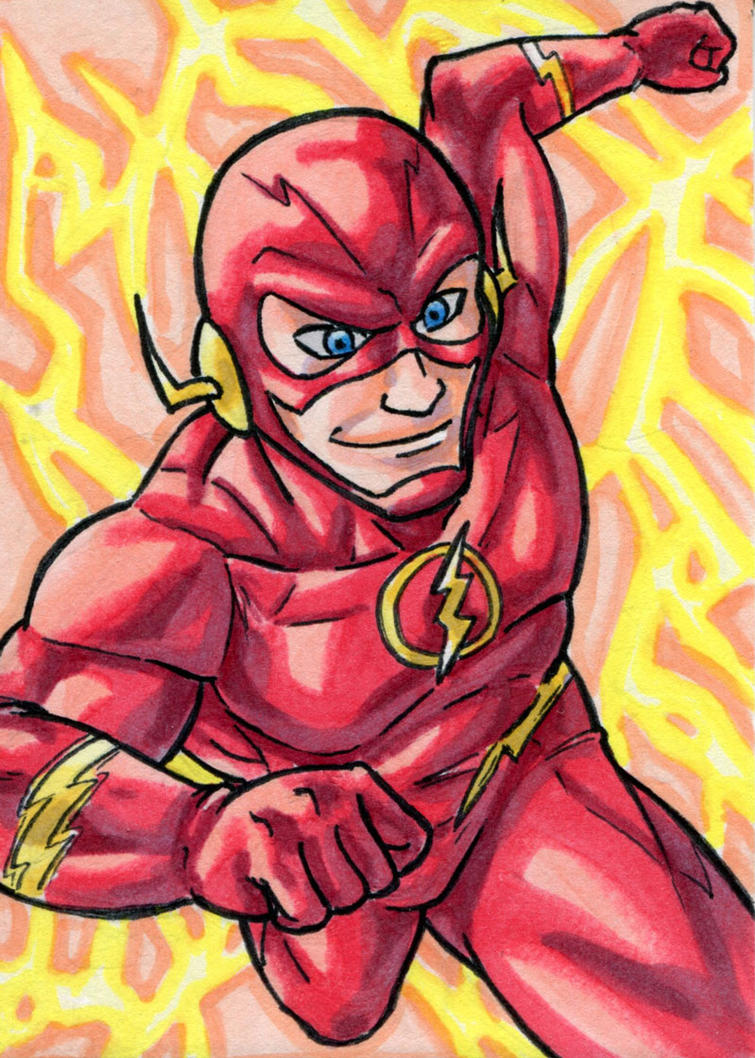 Flash Sketch Card by ibroussardart