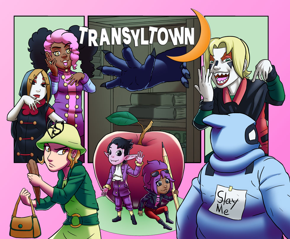 Transyltown Episode 5 Part 1 Cover by ibroussardart