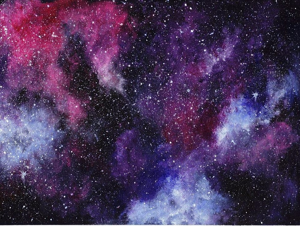 Galaxy painting by rubyartstyle on deviantart for How to paint galaxy