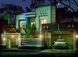 Modern Villa 1c by ArCanEVSU