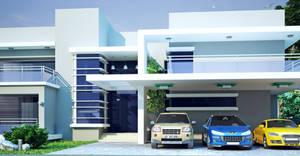 Modern House 1a by ArCanEVSU