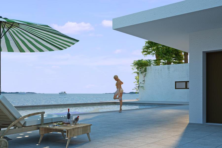 Sea View House 2 By Arcanevsu On Deviantart