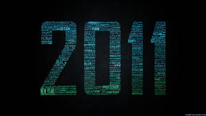 2011 Typographic wallpaper RGB by Yurik86