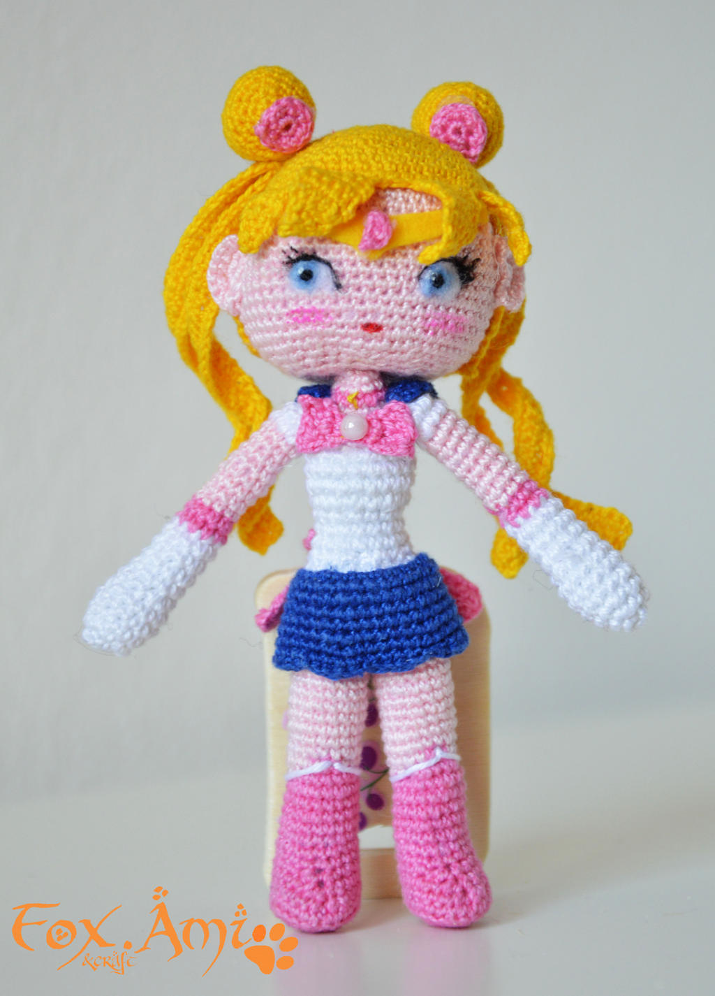 Moon Amigurumi Pattern Free : Sailor Moon amigurumi by FoxAmi-craft on DeviantArt