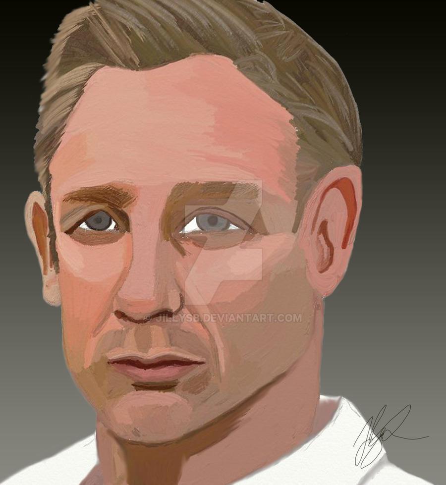 Daniel Craig by JillySB