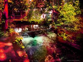 Verulamium Park, St Albans by JillySB