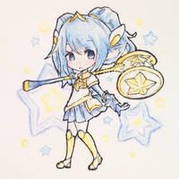 [LoL] Star Guardian Poppy by Sonakii