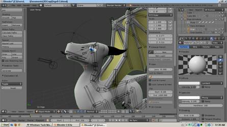 3D Dragon WIP 1
