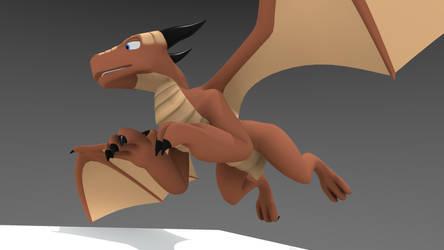 3D Dragon (with .blend DL link)