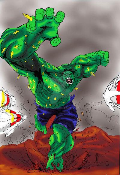 Hulk Finished by Jiinn