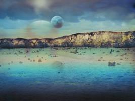 Spacescape by CorneliaMladenova