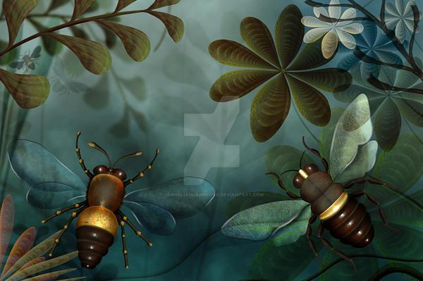 Bees by CorneliaMladenova