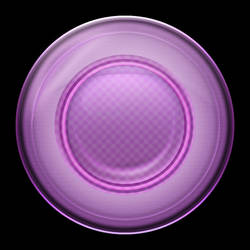 How to Create Unique Purple Orb Style Button