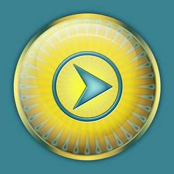 Design Gorgeous Glossy Orb Button by CorneliaMladenova