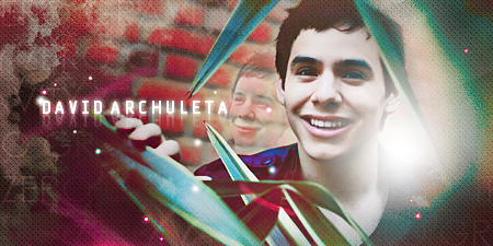 David Archuleta blend by mikeygraphics