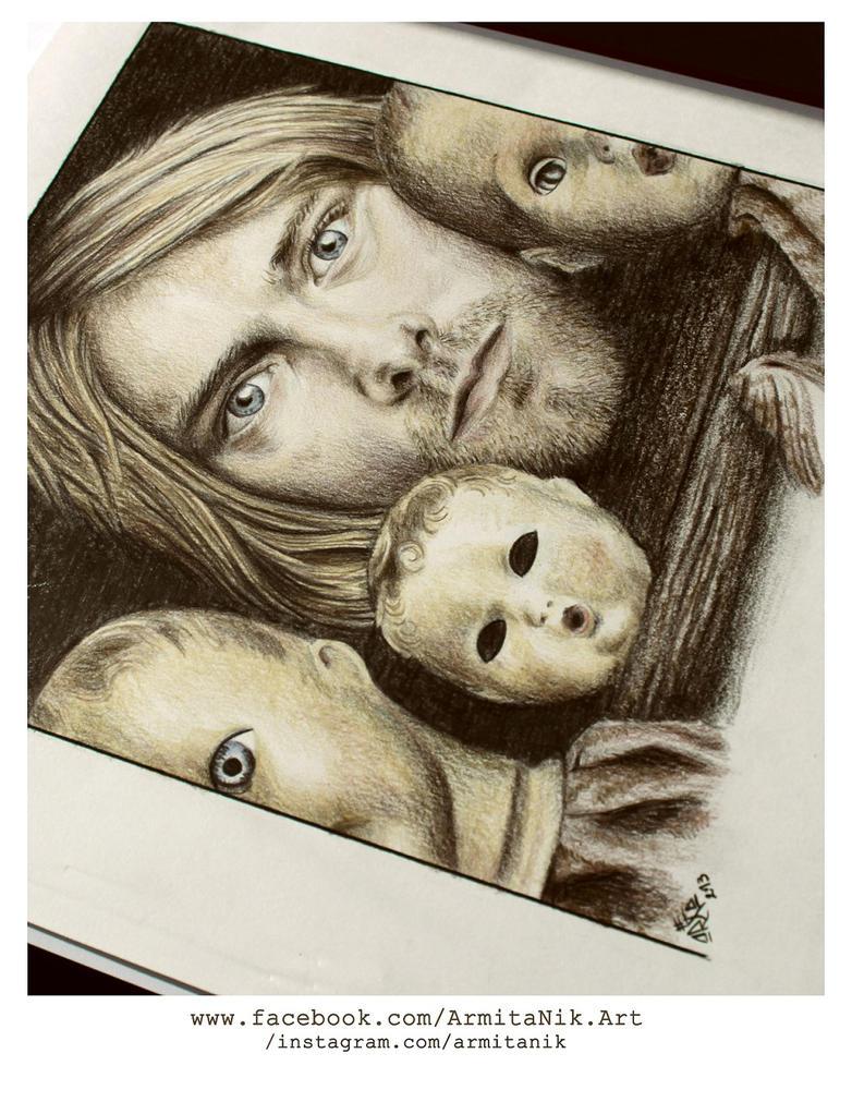 Kurt Cobain by o0gie