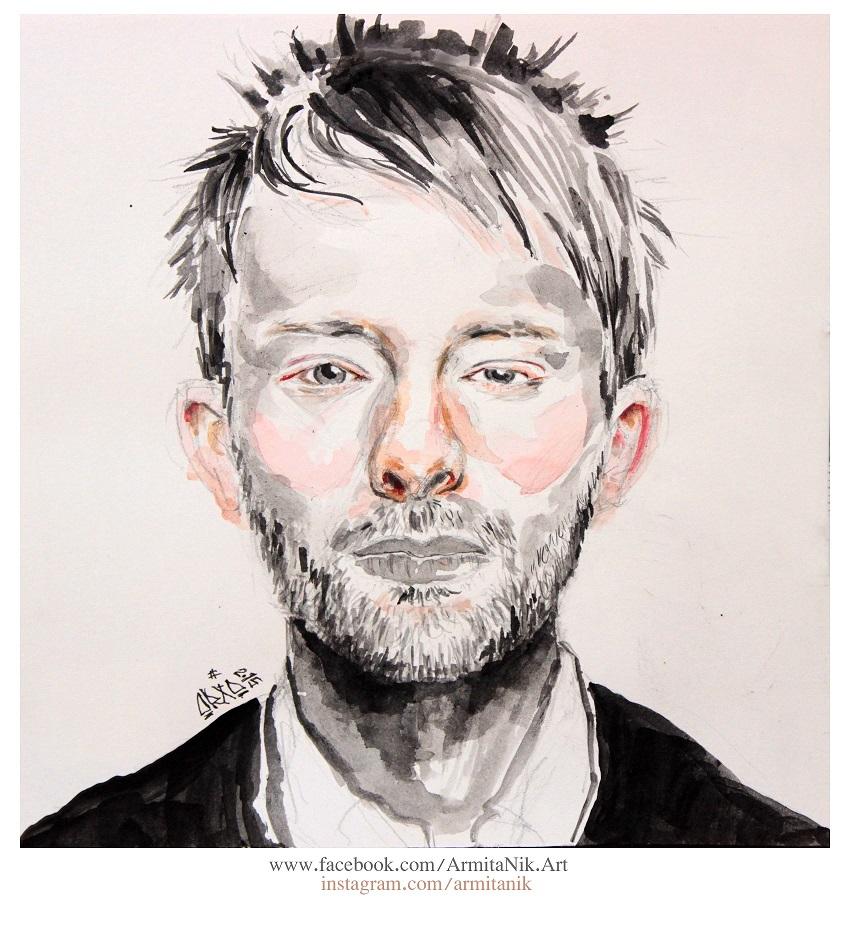 Thom Yorke by o0gie